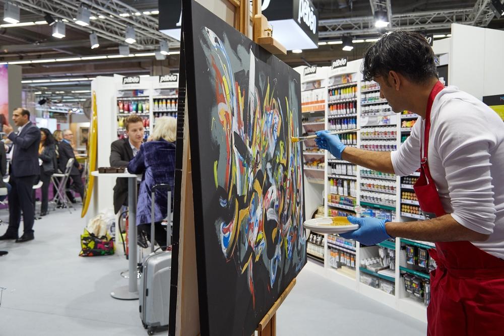 Auf der Creativeworld in Frankfurt findet sich fast alles, was das Herz von Kreativ- und Bastelfans höher schlagen lässt. Abbildung: Messe Frankfurt Exhibition GmbH/Jean-Luc Valentin