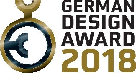 Wird in den Preisstufen Gold, Winner und Special Mention verliehen: der German Design Award.