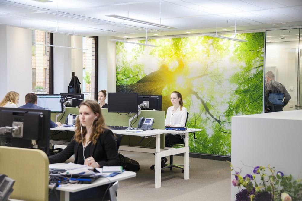 Human Centric Lighting - Das Versuchsbüro von Osram. Abbildung: Osram