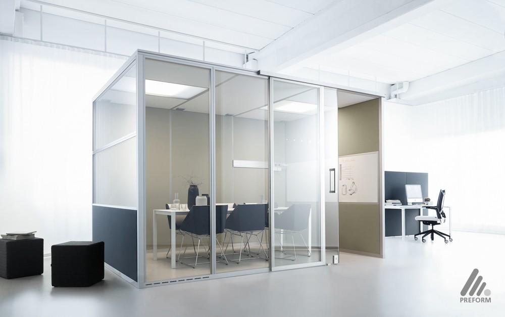 Decato dp50volume: Modulares Kabinensystem. Design: Nicole Liebrich.