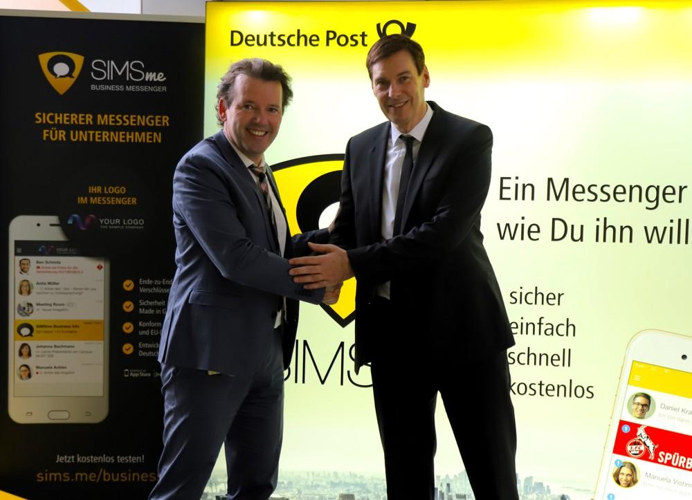 Sichere Kommunikation: Cobra kooperiert mit der Deutschen Post