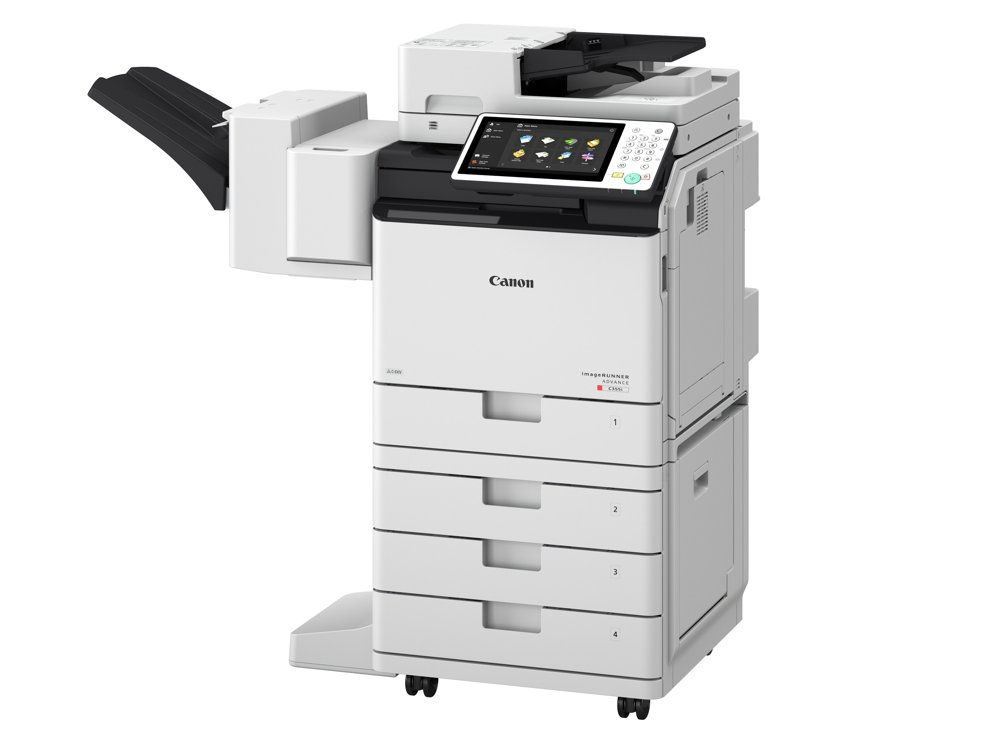 Teil der Managed Print-Lösung bei der Rheinbahn: imageRUNNER ADVANCE C255. Abbildung: Canon
