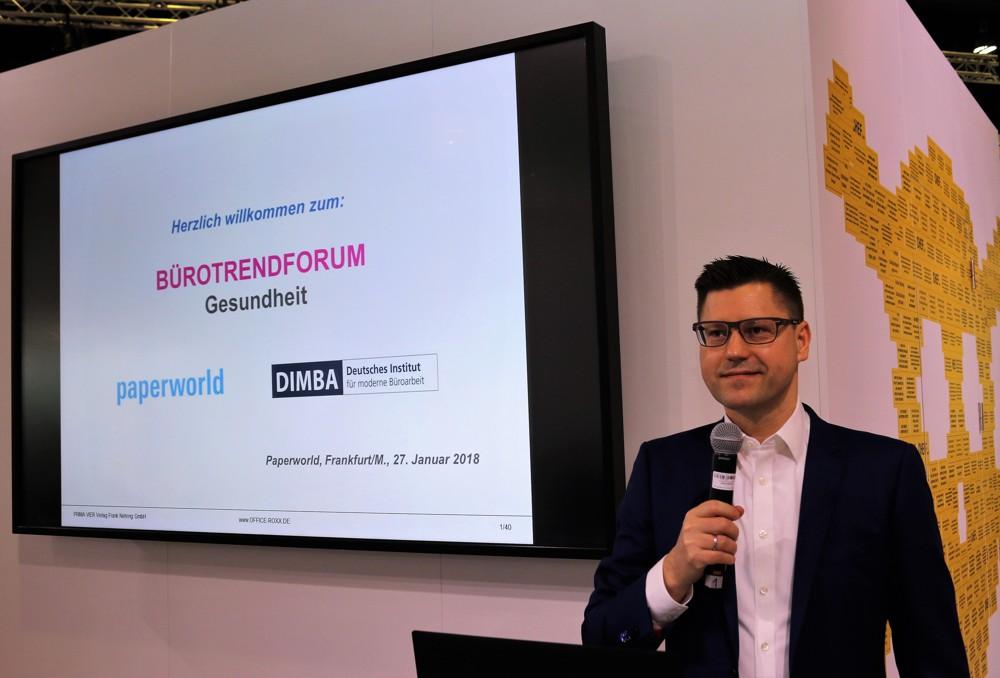 Bürotrendforum Flexibilität auf der Paperworld 2019