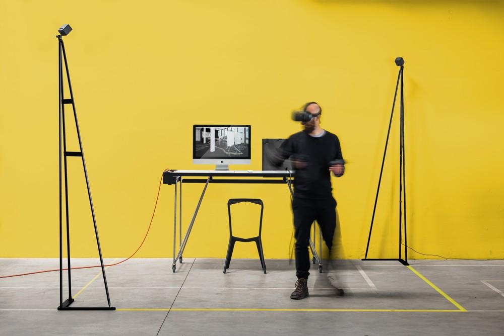 Wie muss ein realer Büroraum für die virtuelle Welt aussehen? System 180 und Exozet tüfteln daran.