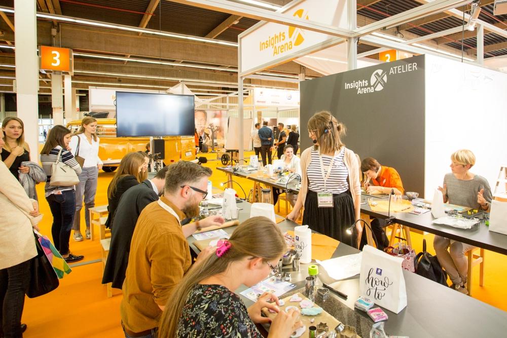 Zahlreiche Workshops für Besucher runden das Messeprogramm der Insights-X ab. Abbildung: Spielwarenmesse eG/Christian Hartlmaier