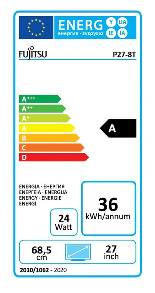 Sorgt für eine gewisse Vergleichbarkeit: das Energielabel der 27-Zoll-Monitore.