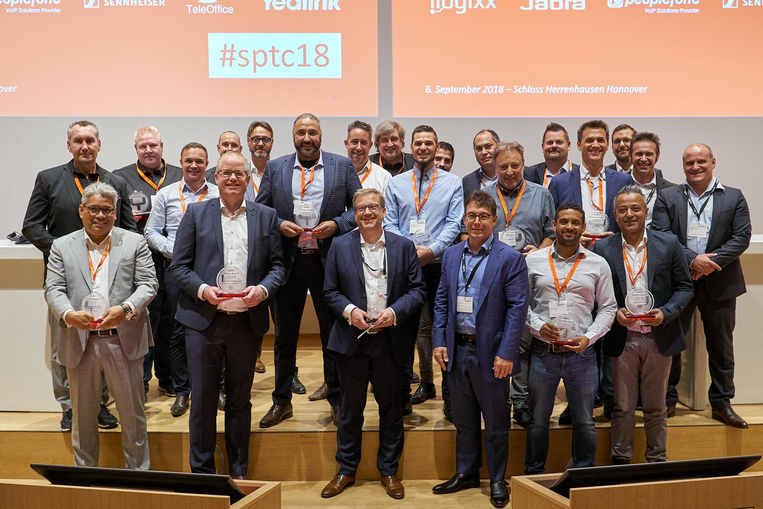 Swyx ehrte Partner auf Technologie-Konferenz