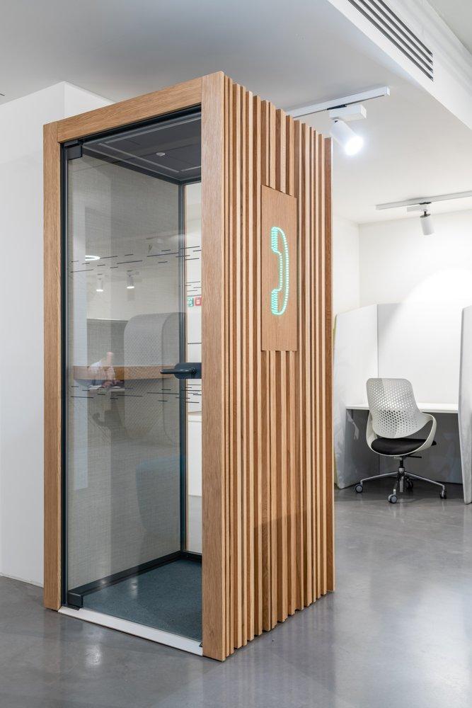 TP4 von Boss Design. Büroakustik
