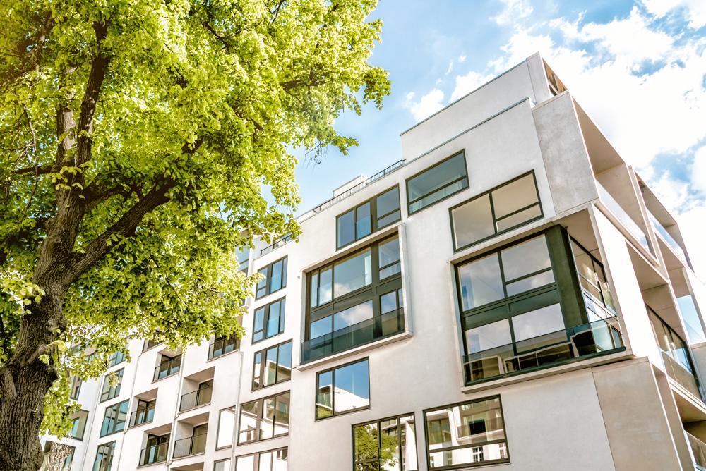 Schallabsorbierende Architektur überzeugt auch von außen. Abbildung: Acoustex