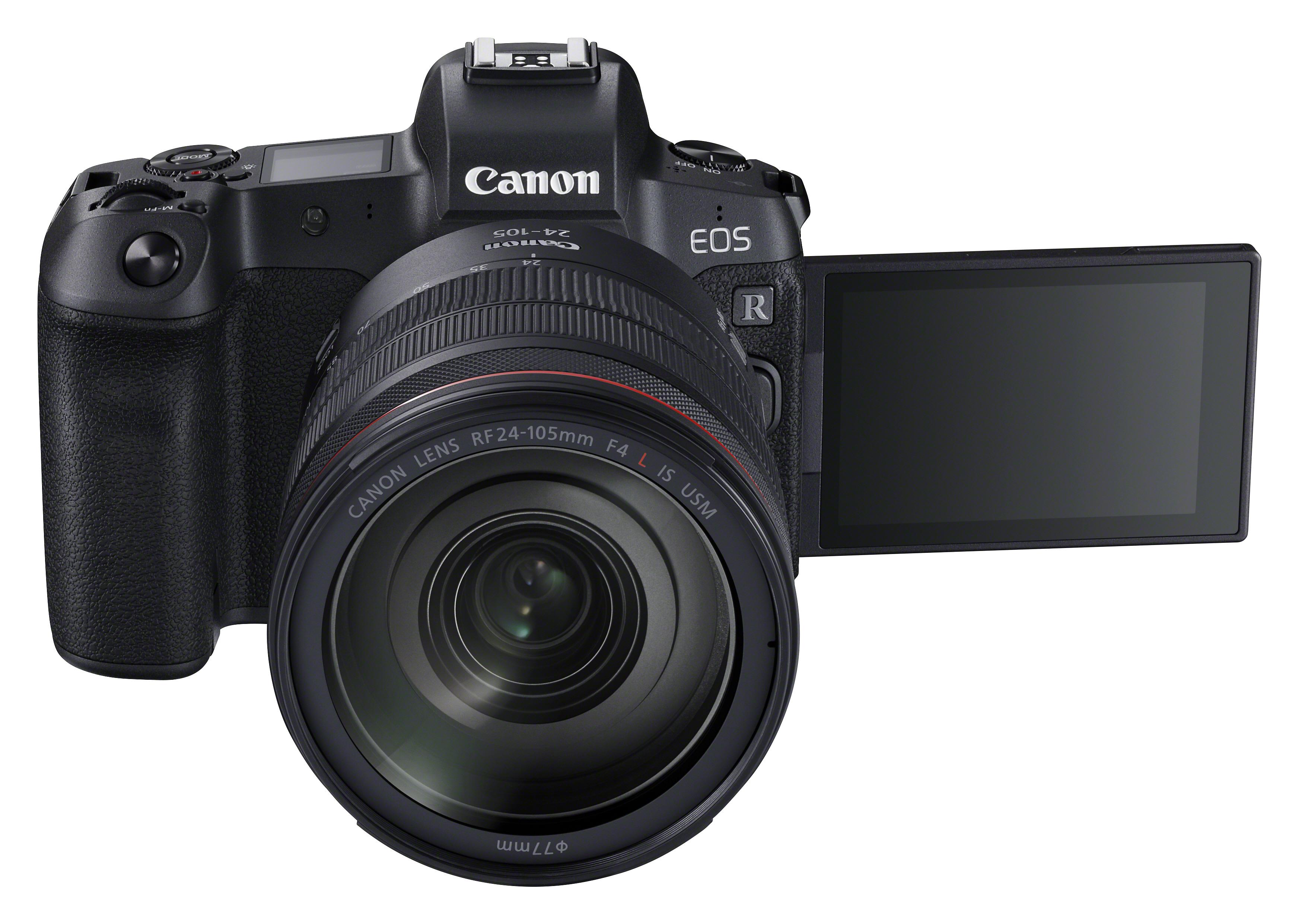 Die neue Kamera RF24 105 mit EOS-R-Technologie. Abbildung: Canon