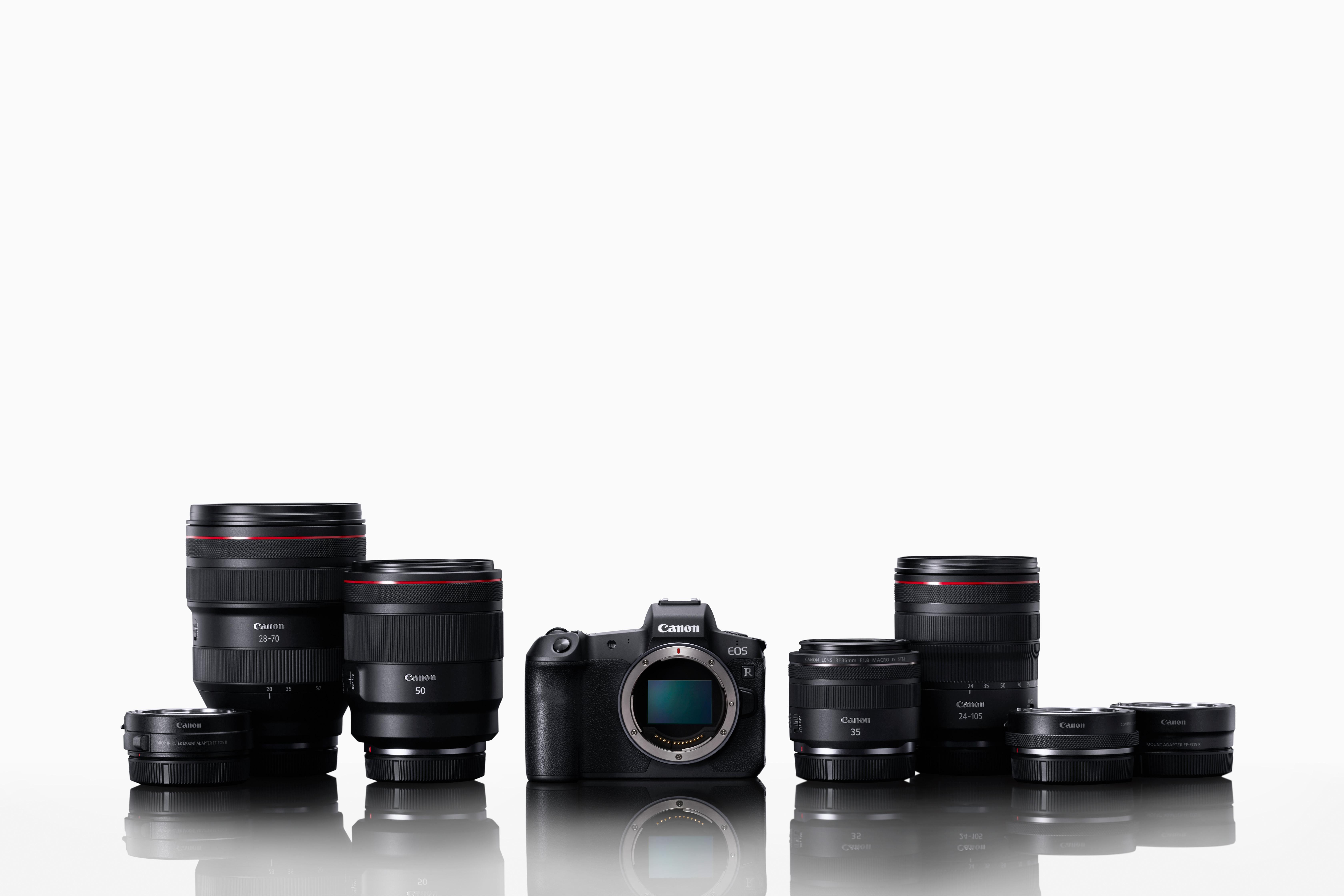 Das neue EOS-R-System von Canon