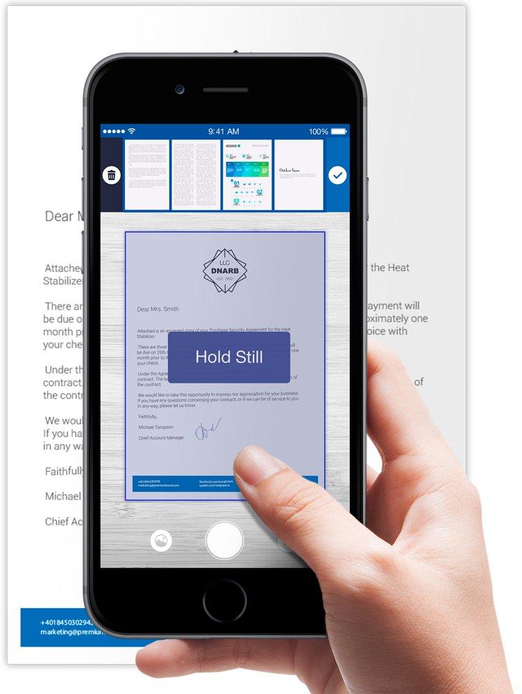 Scan-Apps Scanner für mich von Apalon Apps.