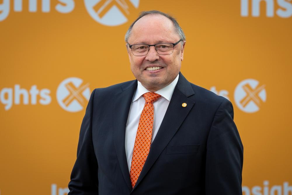 Ernst Kick, Vorstandsvorsitzender Spielwarenmesse eG. Abbildung: Spielwarenmesse eG/Alex Schelbert
