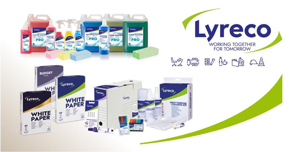 Auch bei den Verpackunsmaterialien setzt Lyreco auf Nachhaltigkeit. Abbildung: Lyreco
