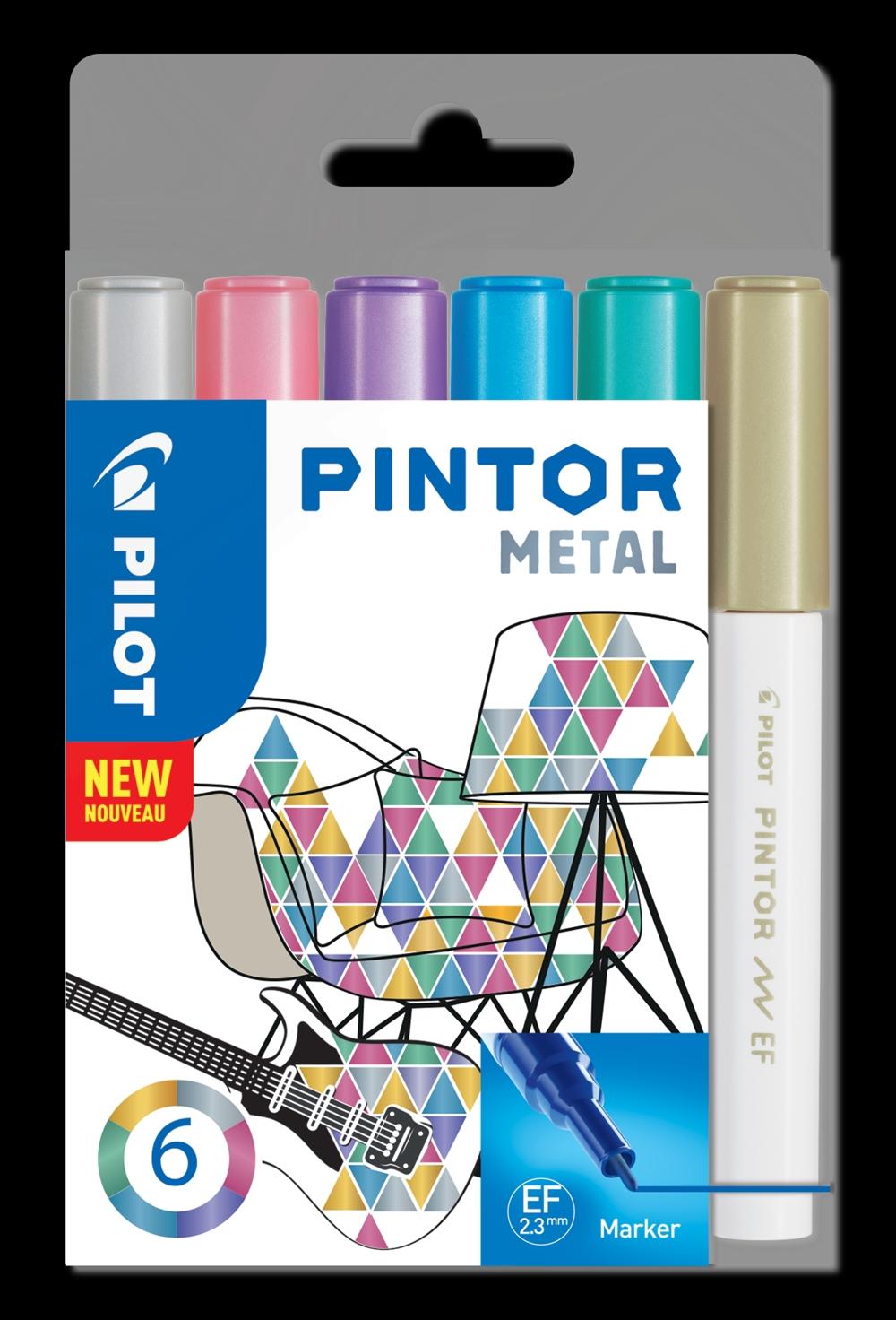 Mit Pintor von Pilot Pen lassen sich verschiedenste Oberflächen kreativ verzieren. Abbildung: Pilot Pen
