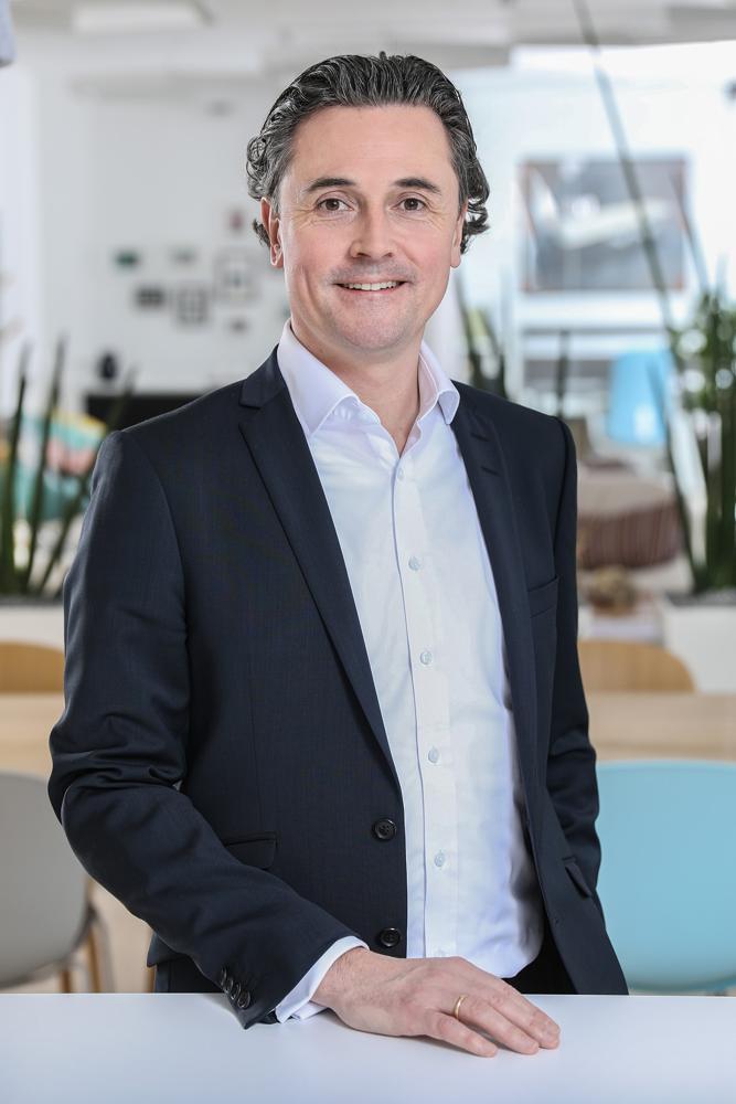René Sitter, Geschäftsführer von Flokk. Abbildung: Flokk