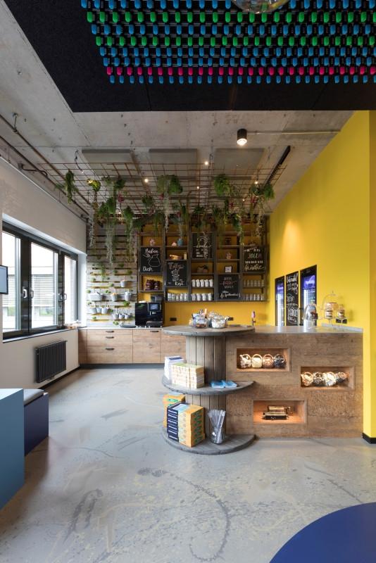 Ein Ort für den kreativen Austausch: das Work.Cafe. Abbildung: Soennecken