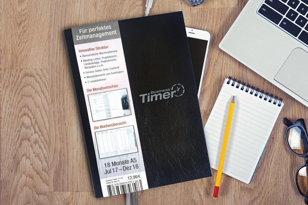 Gewinnspiel: Wir verlosen 10 Business-Timer vom Häfft-Verlag