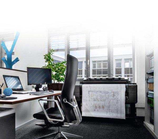 Das Büro-Systemhaus Kaut-Bullinger steht für aktuelle Entwicklungen im Büro 4.0. Abbildung: Kaut Bullinger
