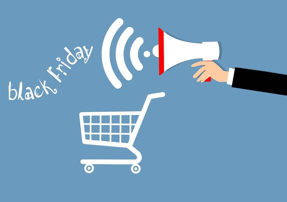 Am Black Friday sind auch kleinere un Nischenhändler ein Kundenmagnet. Abbildung: Pixabay