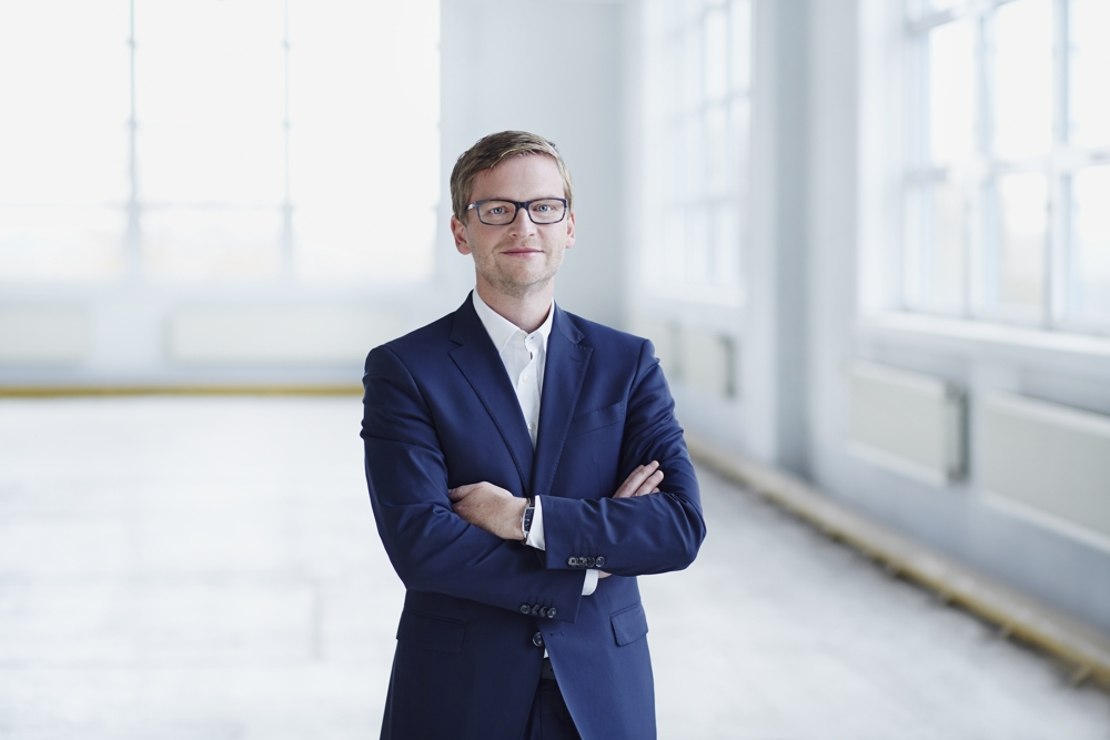 Torsten Jahn, Geschäftsführer der Pelikan Vertriebsgesellschaft. Abbildung: KOPF & KRAGEN Fotografie