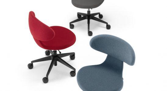 Die Stuhlfamile Simplex 3D überzeugt unter anderem durch einfache Bedienbarkeit. Abbildung: Girsberger