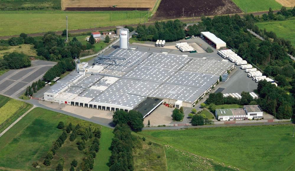 Das Fertigungswerk von Assmann in Melle. Abbildung: Assmann Büromöbel