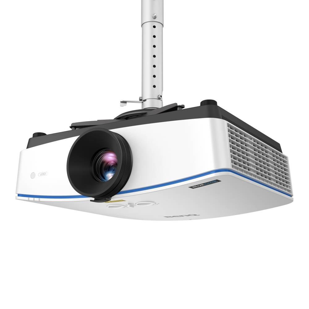 Lässt sich auch an der Decke montieren: der Projektor LH770 von BenQ. Abbildung: BenQ