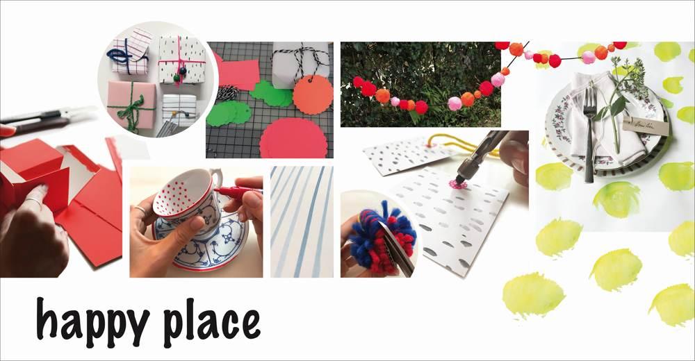 Happy Place, eine der neuen Themenwelten der Creativeworld. Abbildung: Creativeworld/Messe Frankfurt