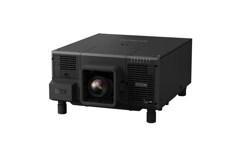 Moderne Projektoren wie der EB-L12000Q mit Laserlichtquelle und nativer 4K-Auflösungen werden die Marktposition von Epson auch im Jahr 2019 stützen. Abbildung: Epson