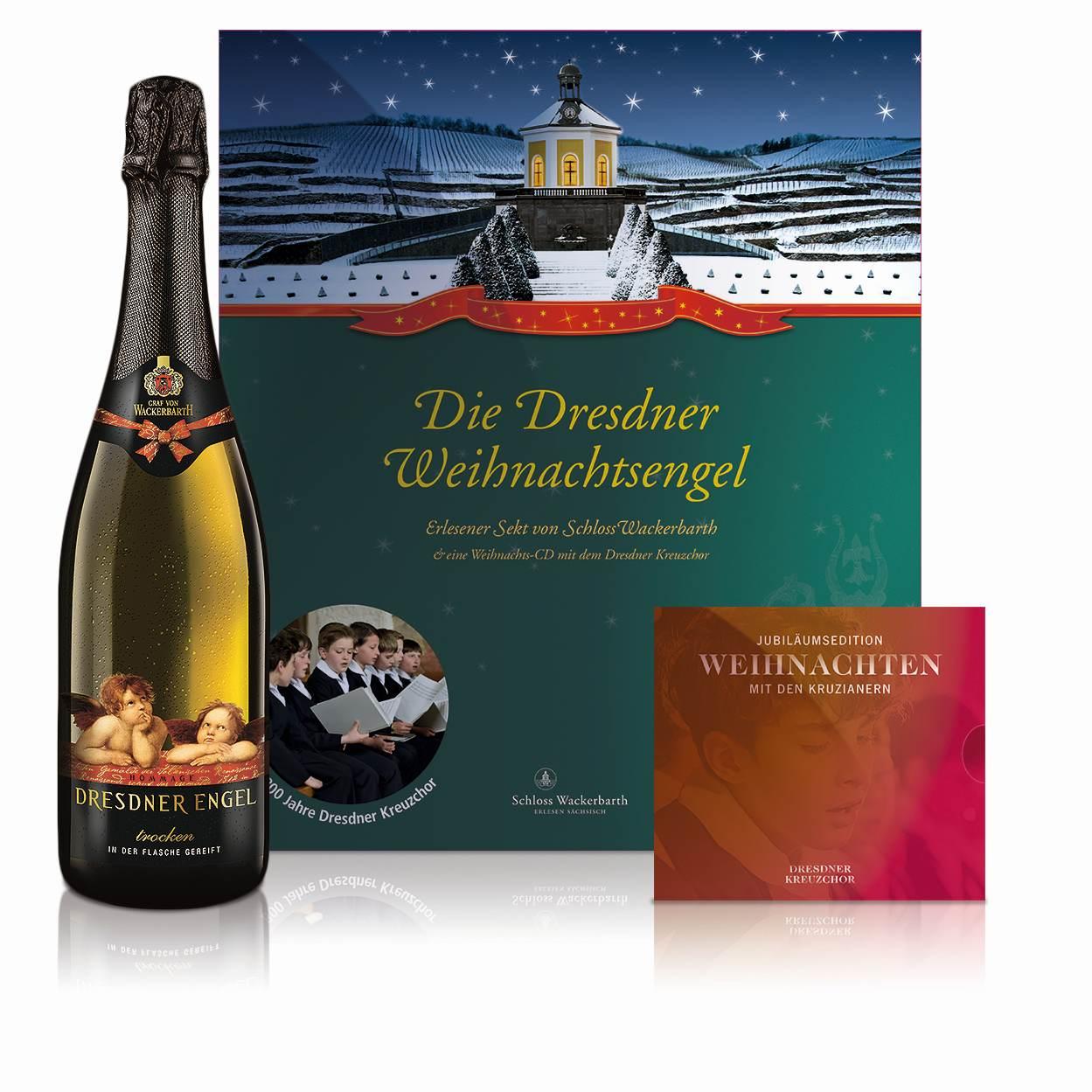 Präsent Dresdner Weihnachtsengel: Abbildung: Sächsisches Staatsweingut GmbH