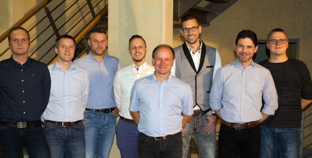 Neues Vertriebsteam von Imcopex in Braunschweig. Abbildung: Imcopex