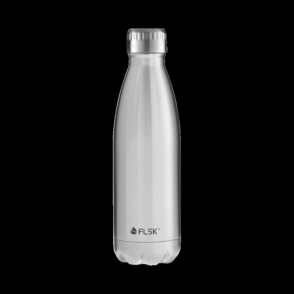 Für Wanderungen oder fürs Büro: Die Vacuum Insulated Stainless Steel Flask von FLSK. Abbildung: FLSK