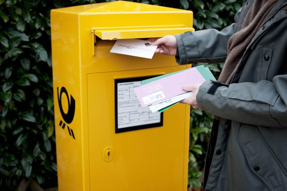 Das Briefporto steigt ab 1. April