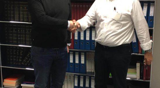 Christian Gerth (links) und Heinz Prygoda (rechts). Abbildung: Olympia