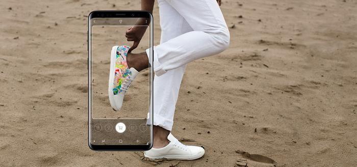 Mit der Samsung Shopping Lense können Artikel erkannt und Bestellungen ausgelöst werden. Abbildung: Samsung