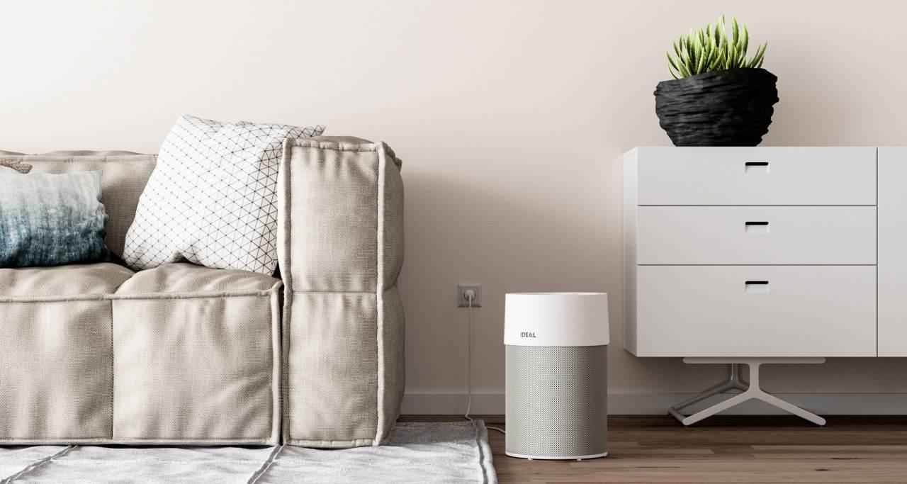 Der Luftreiniger Ideal AP40 Pro eignet sich für zuhause und fürs Büro. Abbildung: Ideal Krug & Priester