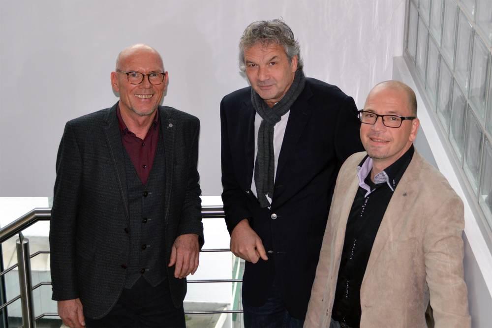 Der Aufsichtsratsvorsitzende von DIE6, Heinrich Grübener, Bernd Eick und der Geschäftsführer von DIE6, Holger Kapanski (v.l.n.r.). Abbildung: DIE6