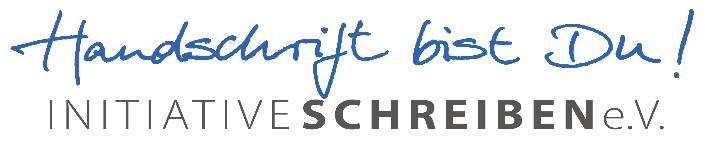 Logo der Initiative Schreiben e. V. Abbildung: Initiative Schreiben e. V.