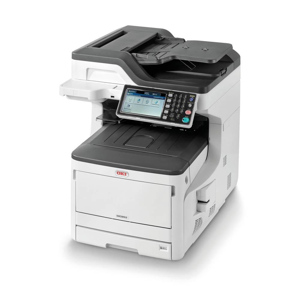 Die Farb-Multifunktionsdrucker der Serie MC800 sind Teil der Aktion Alive with Color. Abbildung: OKI Europe Limited