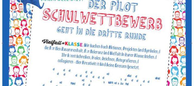 Aktionsplakat von Pilot Pen zum Wettbewerb. Abbildung: Pilot Pen