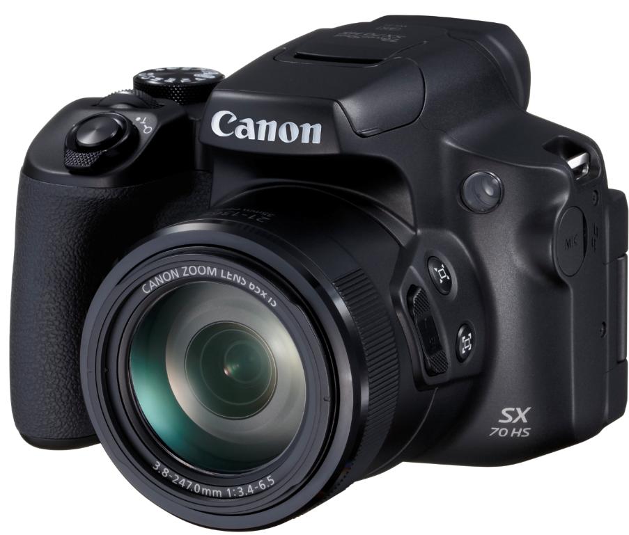 Die PowerShot SX70 HS von Canon. Abbildung: Canon
