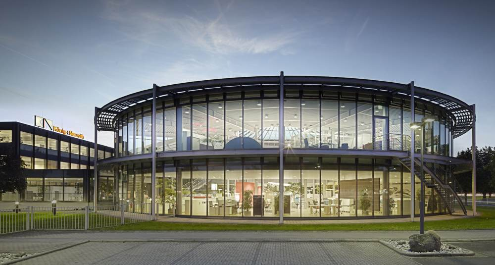 Der Hauptsitz der König + Neurath AG. Abbildung: König + Neurath AG