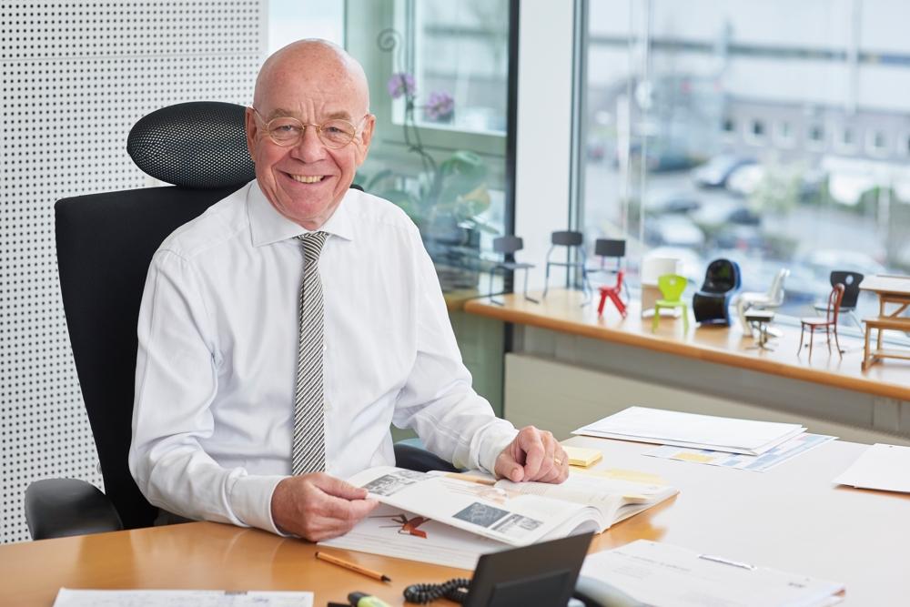 VS-Seniorchef Prof. Dr. Thomas Müller ist zum 1. März 2019 in den Ruhestand gegangen. Abbildung: VS Vereinigte Spezialmöbelfabriken