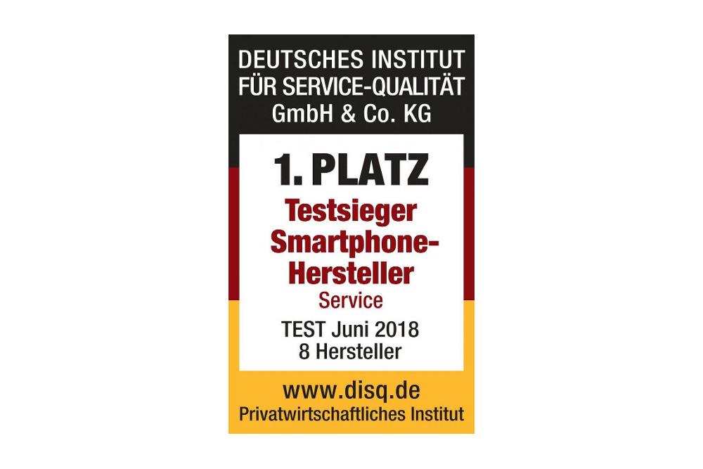 Samsung hat Deutschen Servicepreis 2019 erhalten