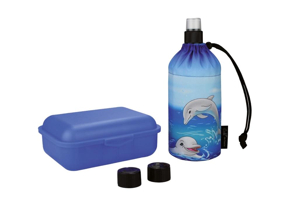 Um überflüssigen Verpackungsmüll zu vermeiden, sollte zu umweltfreundlichen Mehrwegflaschen und Brotdosen gegriffen werden. Abbildung: djd/Emil die Flasche