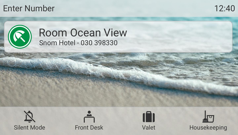 Die neue Benutzeroberfläche der Firmware Version 10. Abbildung: Snom