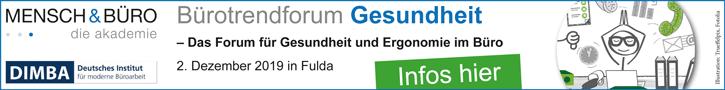 Buerotrendforum Gesundheit, Fulda, 2. Dezember