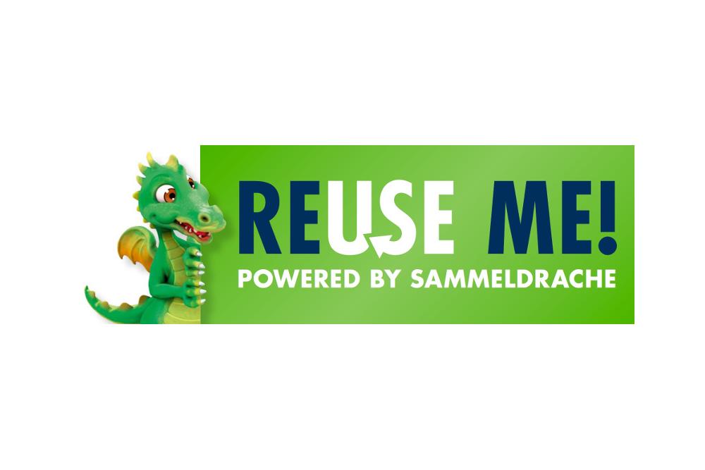 ReUseMe!-Logo von Interseroh. Abbildung: Interseroh