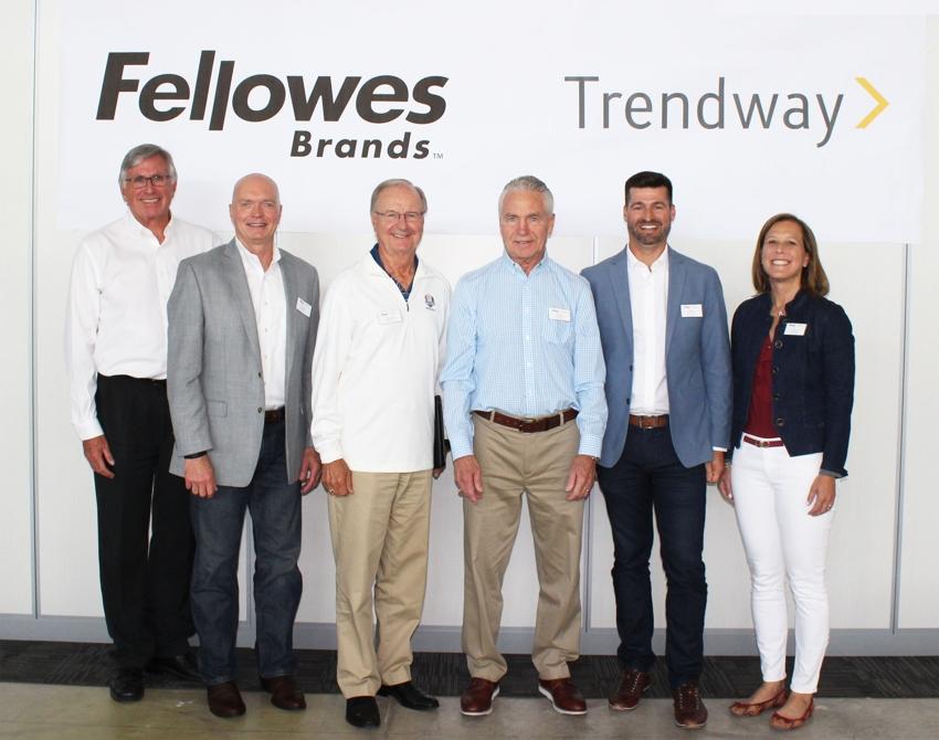 Fellowes hat Trendway übernommen